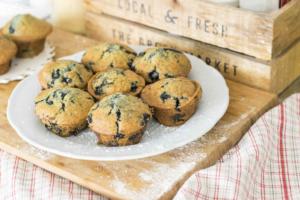 Blaubeer-Banane-Muffins Rezept Heissluftfritteuse