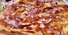 Flammkuchen Heißluftfritteuse Rezept
